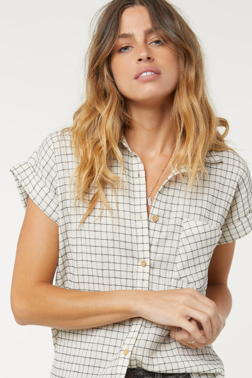 NEENA PLAID TOP