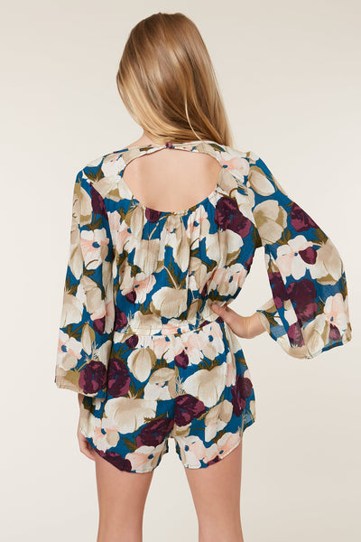 GIRLS NIGHT BLOOM ROMPER