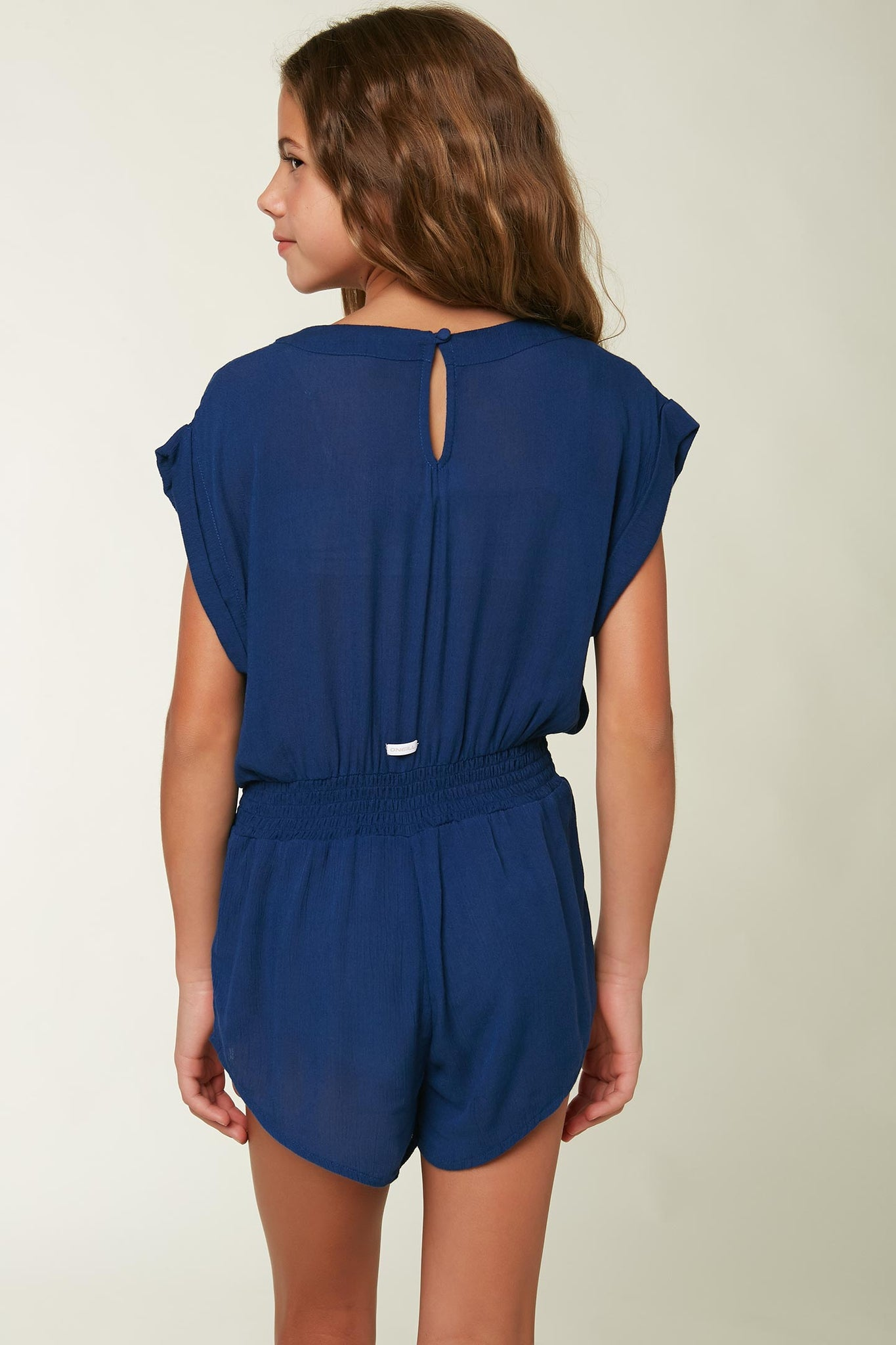 Girls Nil Romper Cover-Up - Navy | O'Neill