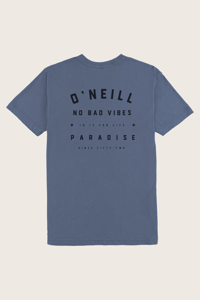 d688facdf3 FALSE NO BAD VIBES POCKET TEE