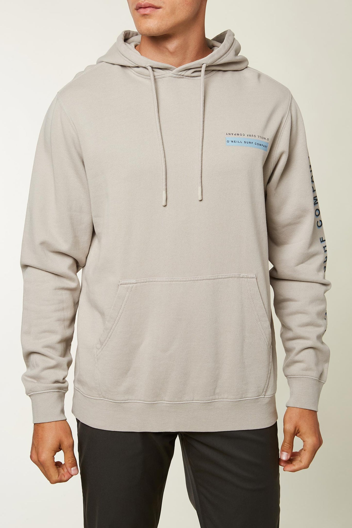 Nopales Hooded Pullover - Pewter | O'Neill