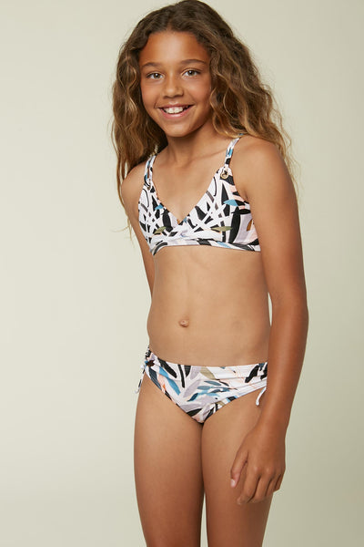 GIRLS NORA TRI TOP SET