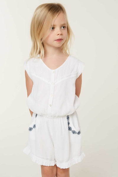 LITTLE GIRLS OLIVIA ROMPER