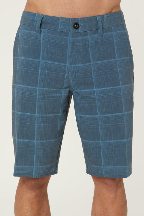 OUTSIDER PLAID HYBRID SHORTS