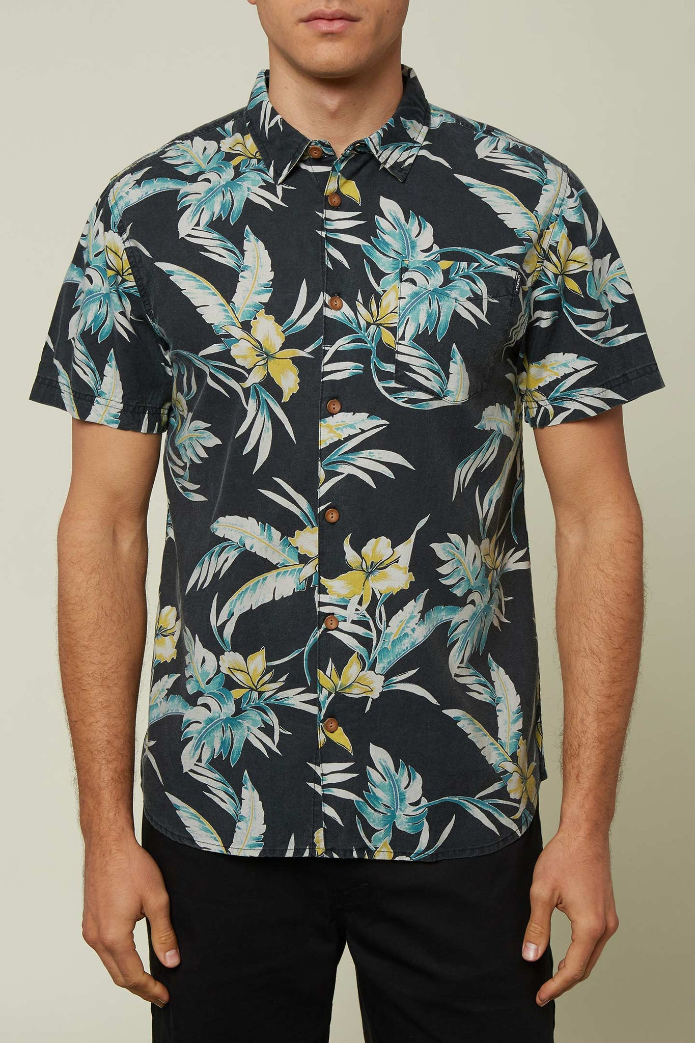 Papa Sean Shirt - Black | O'Neill