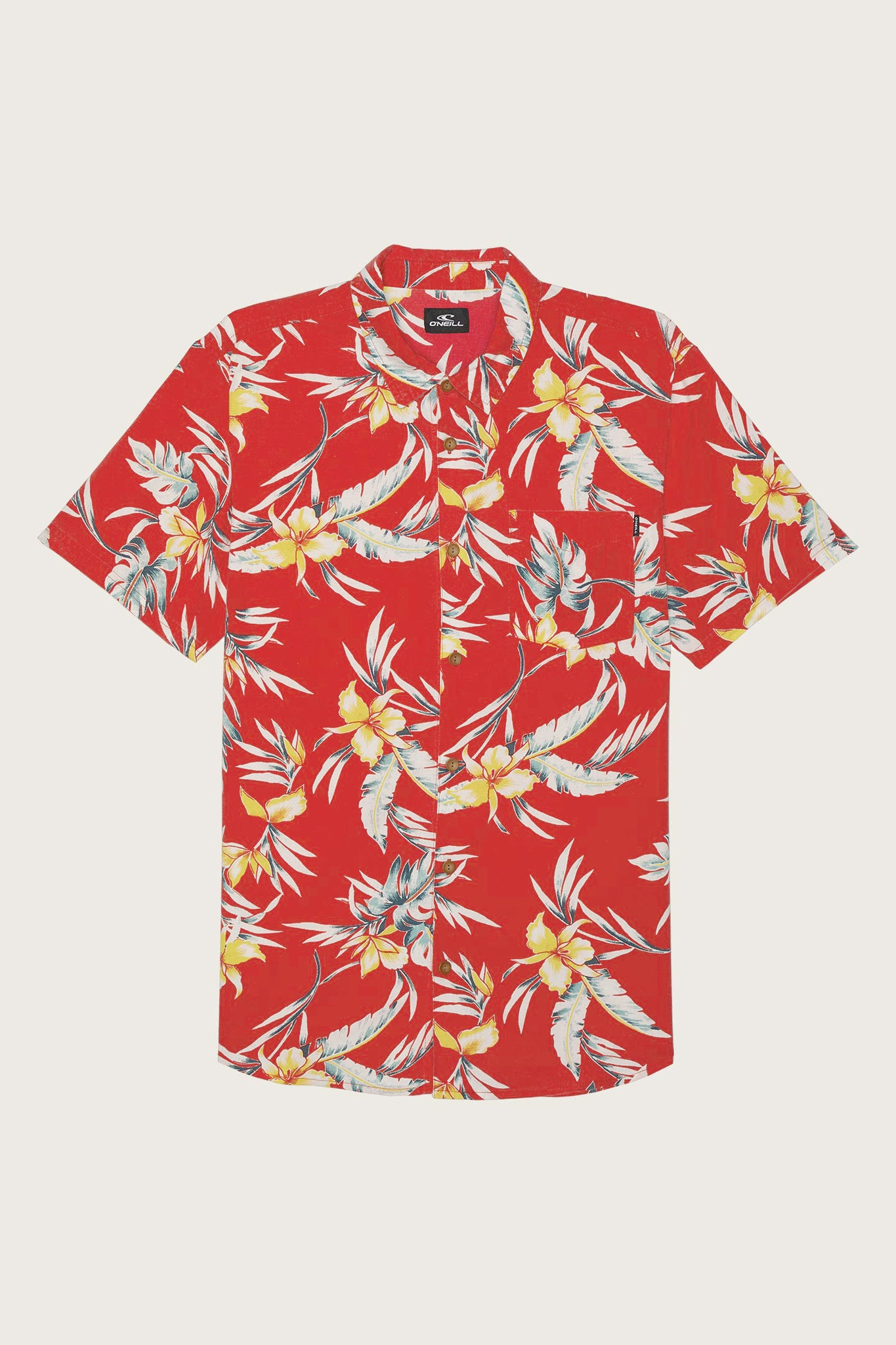 Boys Papa Sean Shirt - Red | O'Neill