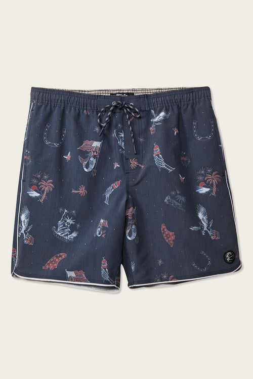 PATCHES VOLLEY CRUZER BOARDSHORTS