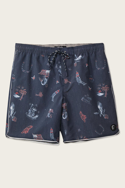 05263a81b4c82 PATCHES VOLLEY CRUZER BOARDSHORTS ...