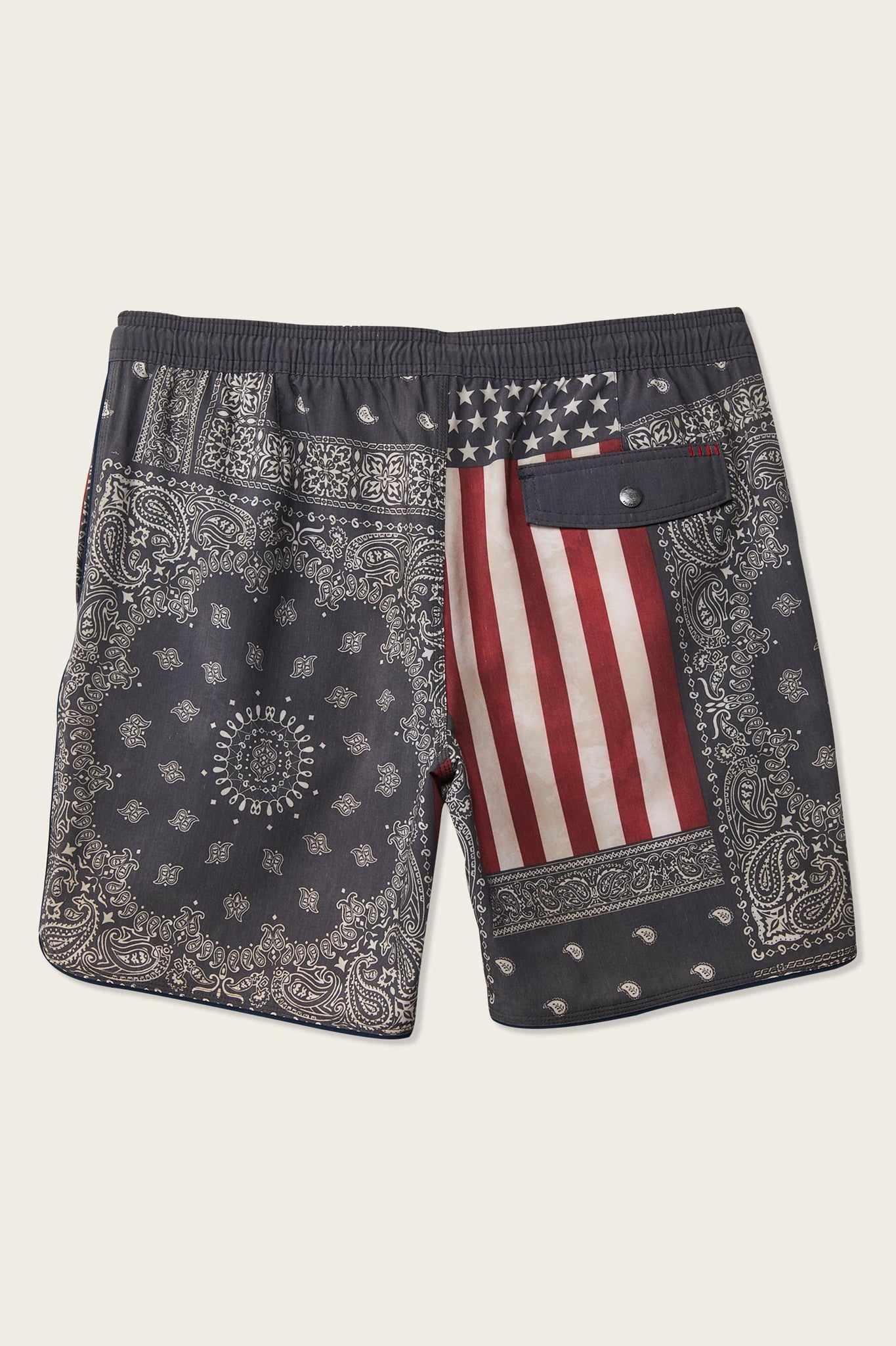 Patches Volley Cruzer Boardshorts - Red White Blue | O'Neill