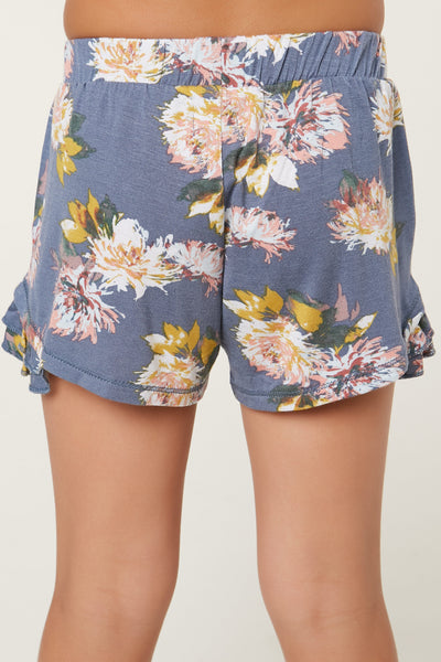 LITTLE GIRLS PERI SHORTS
