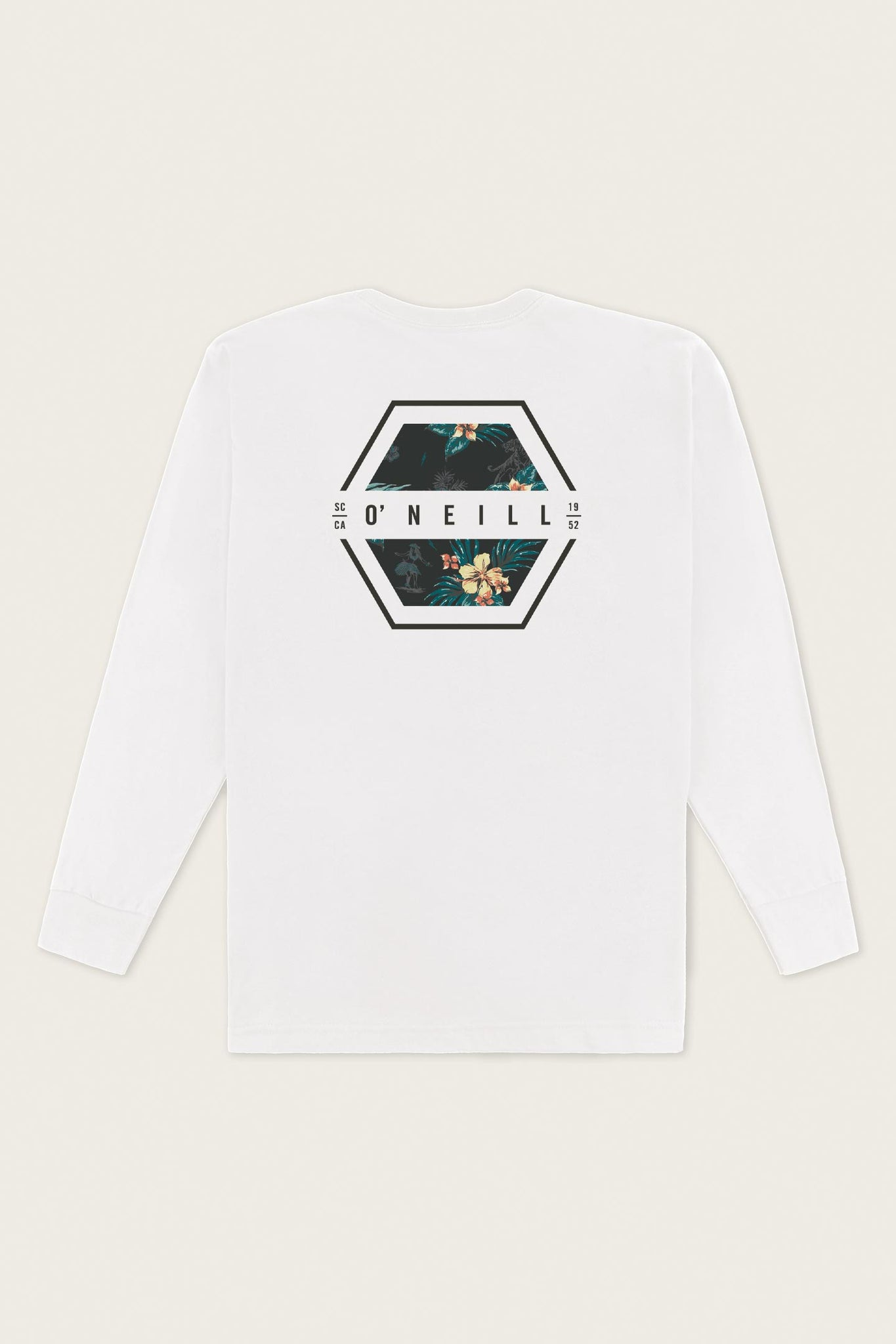 Phil Long Sleeve Tee - White | O'Neill