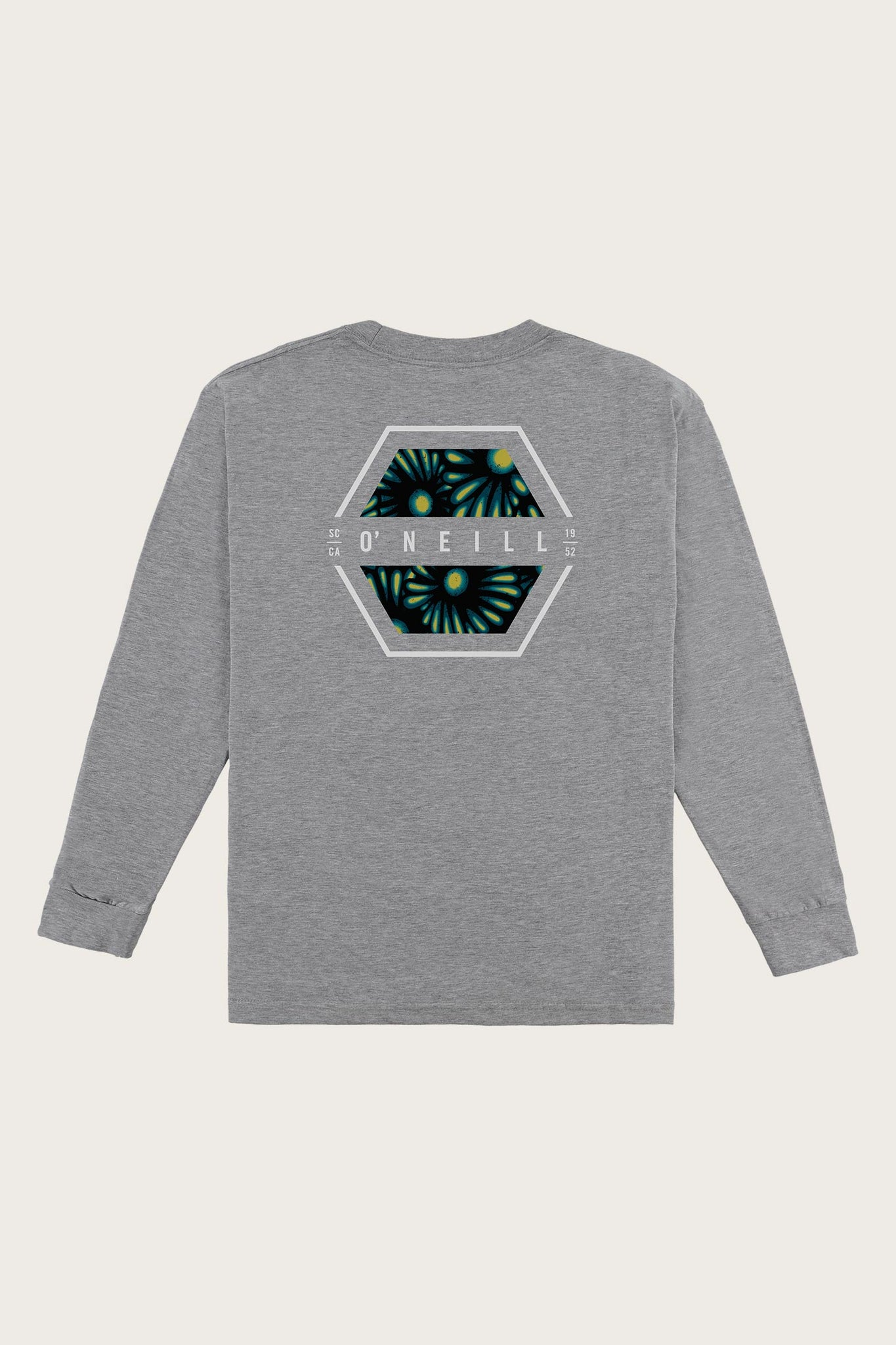 Boys Phil Long Sleeve Tee - Heather Grey | O'Neill