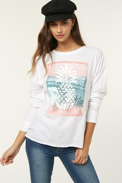 PINE TREE LONG SLEEVE TEE