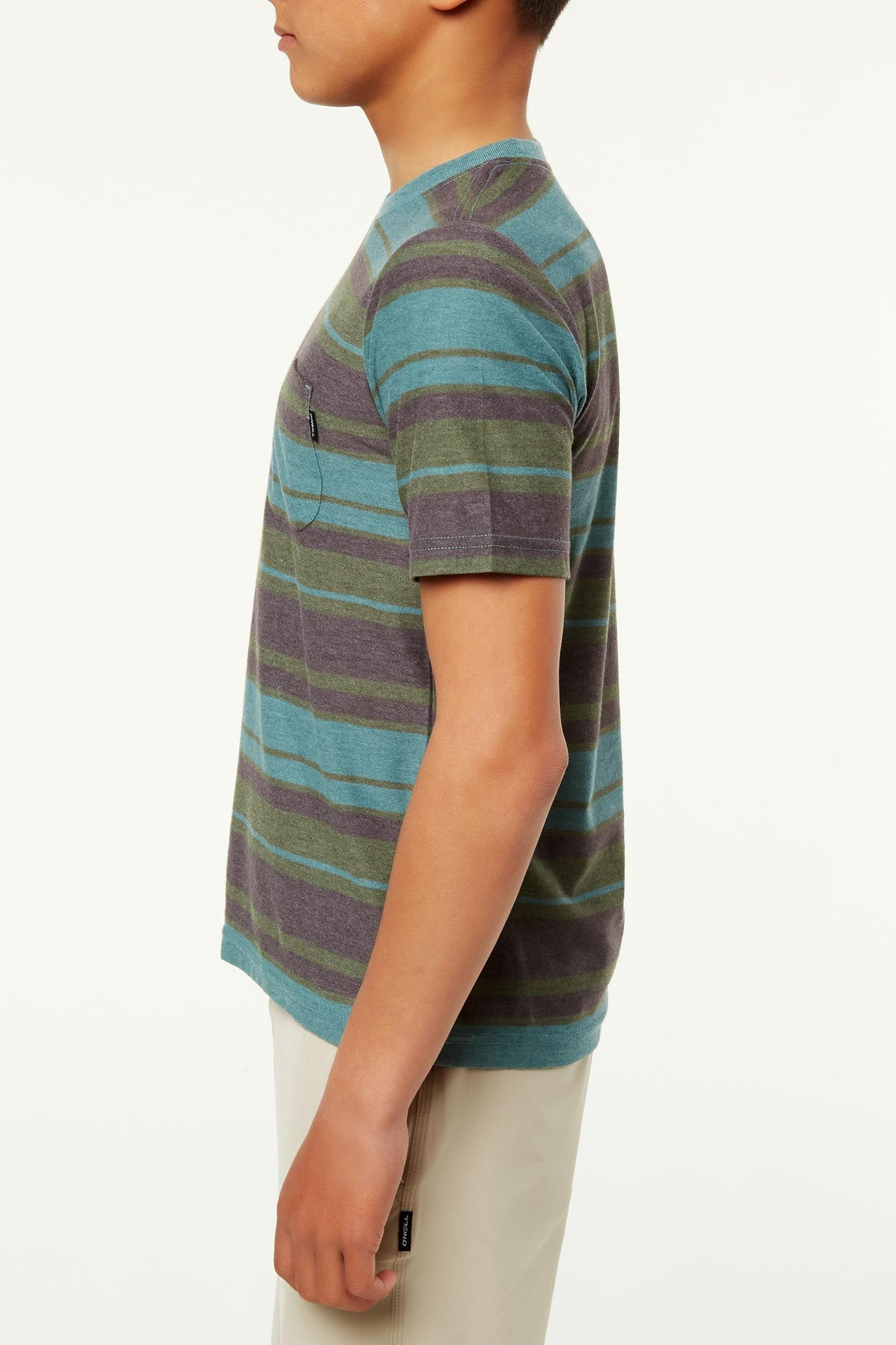 Boys Pinnacle Crew Tee - Mallard Green | O'Neill