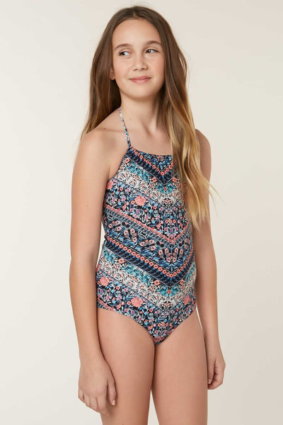 GIRLS PORTER ONE-PIECE SWIMSUIT