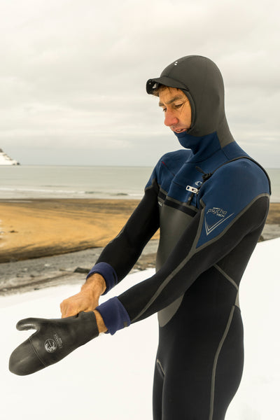 PSYCHO TECH 5.5/4MM CHEST ZIP FULL W/HOOD WETSUIT
