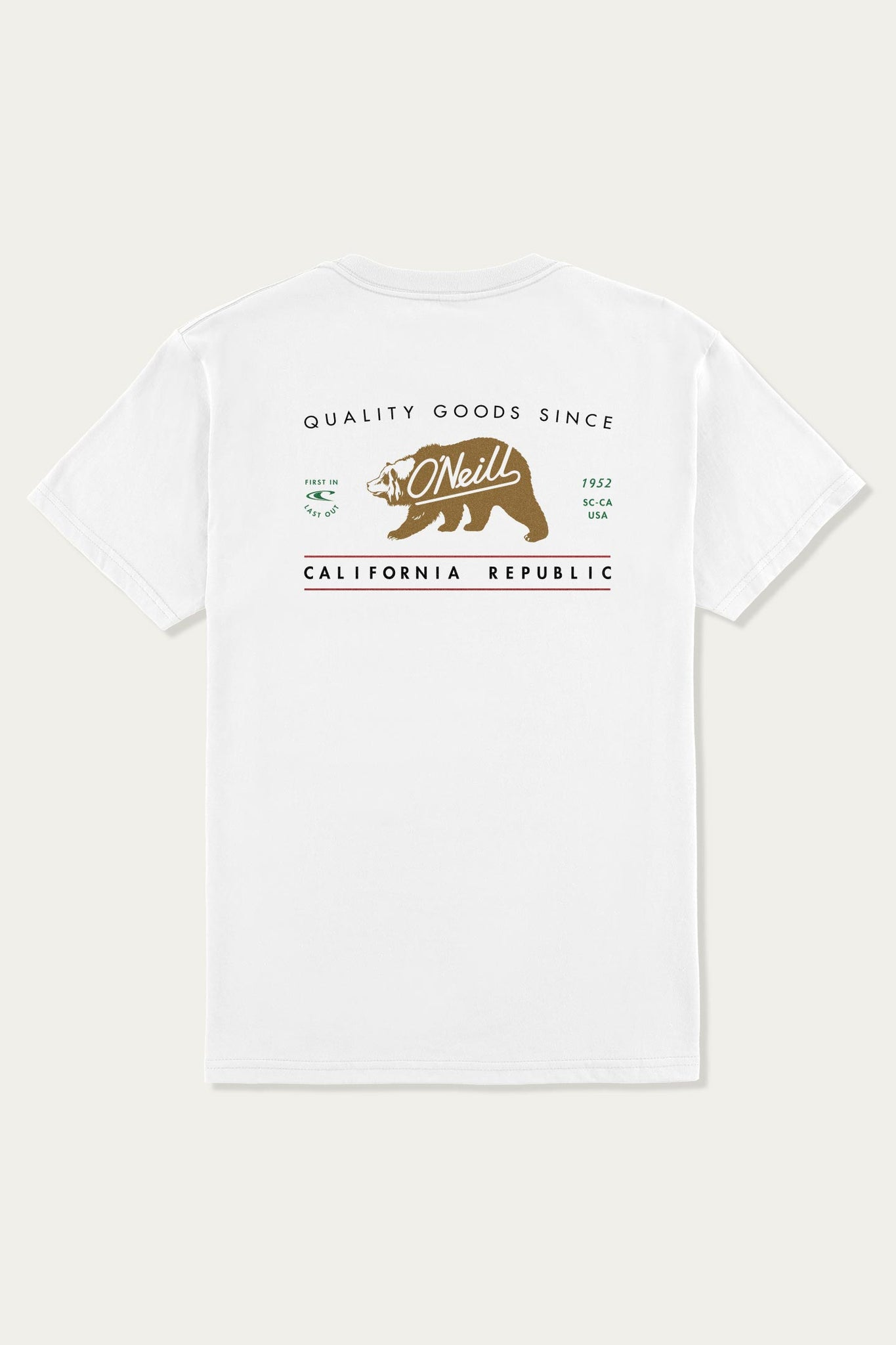 Quality Bear Tee | O'Neill Clothing USA