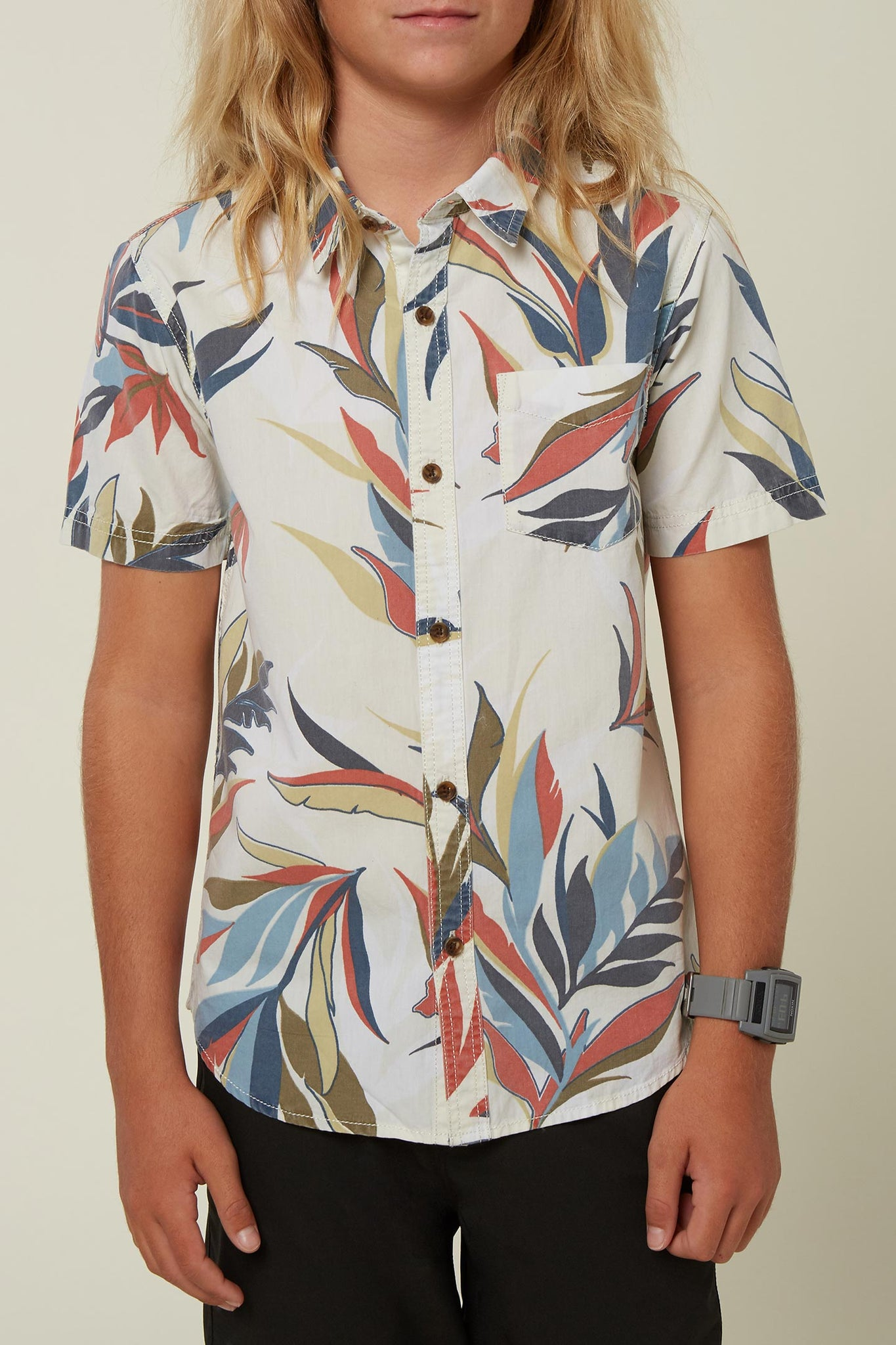 Boys Rania Shirt - Bone | O'Neill