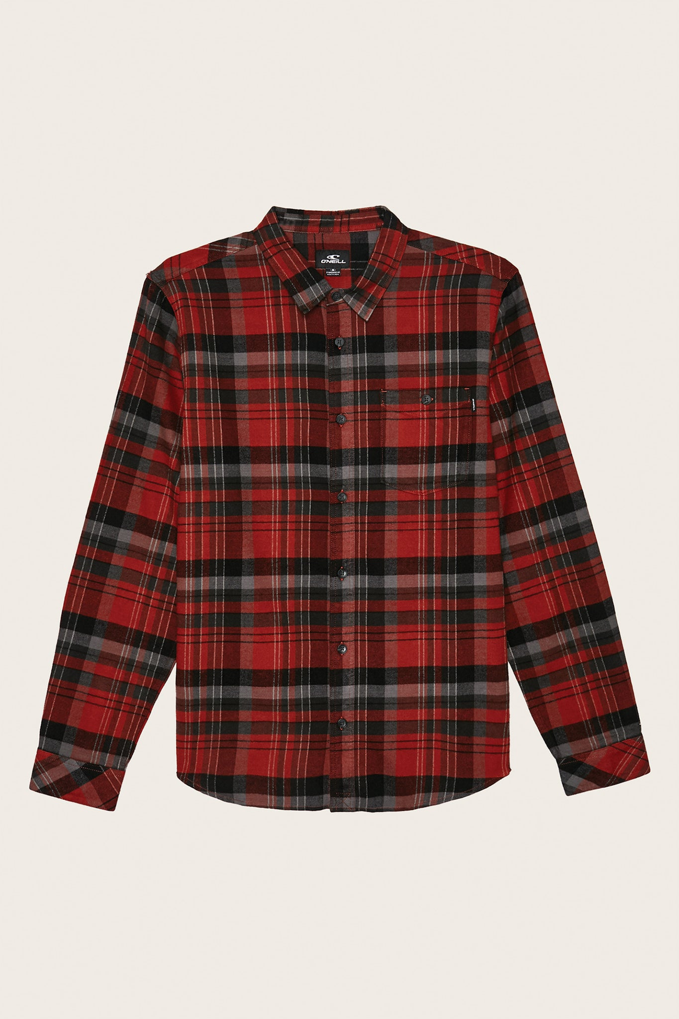 Boys Redmond Flannel - Vintage Red | O'Neill