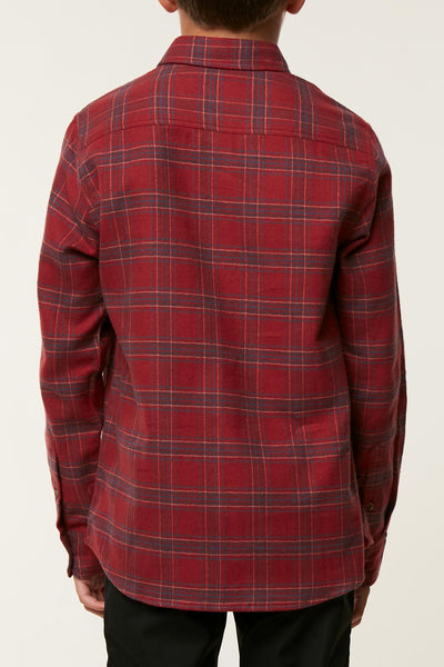BOYS REDMOND FLANNEL