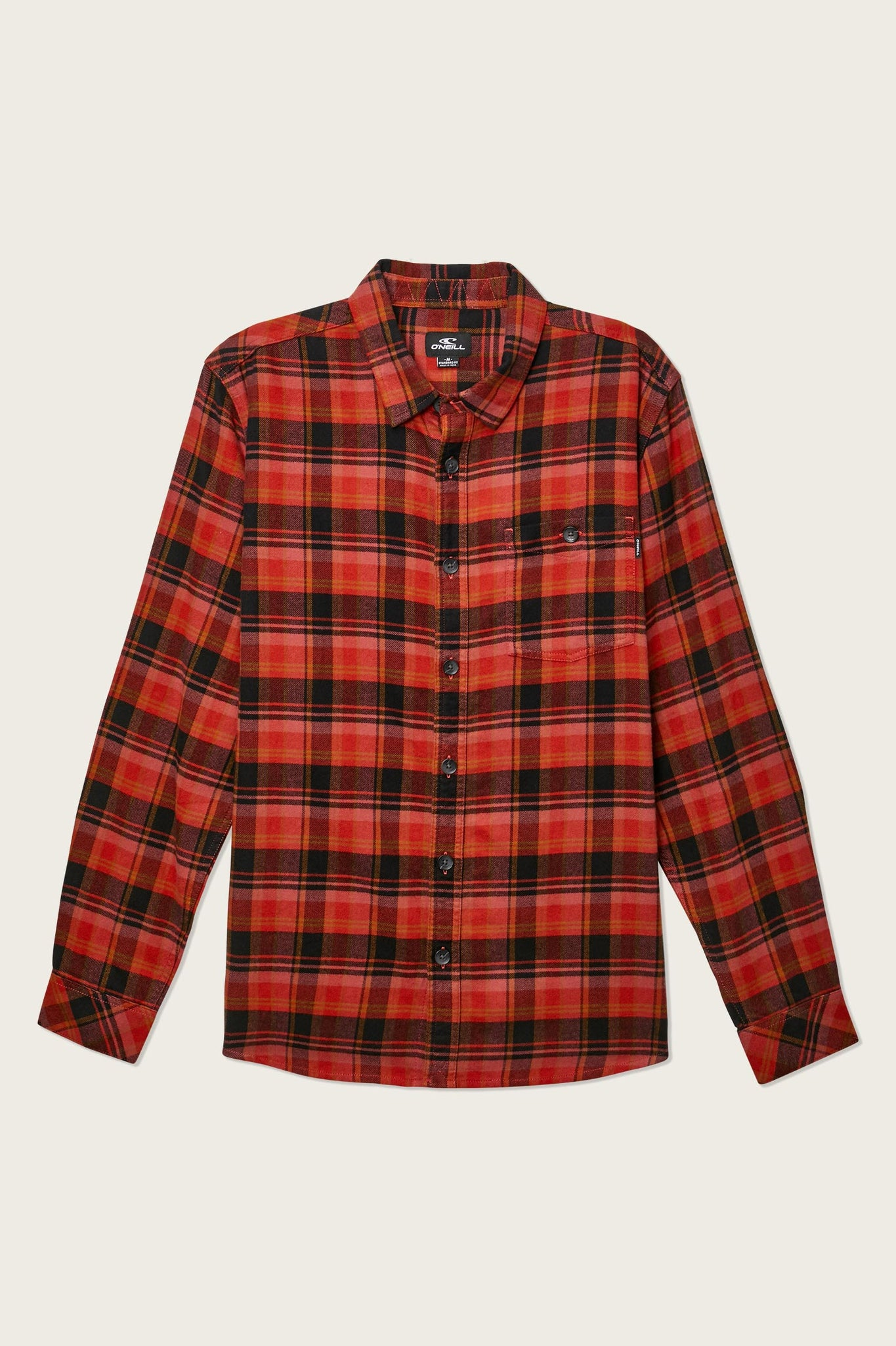 Redmond Flannel - Red | O'Neill