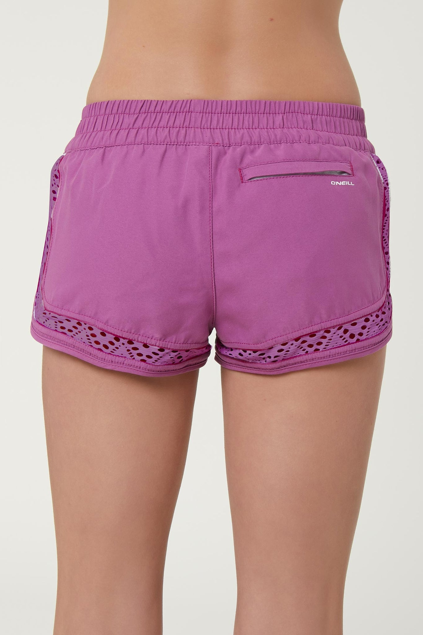"Girls Renewal  2"" Boardshort - Striking Purple 