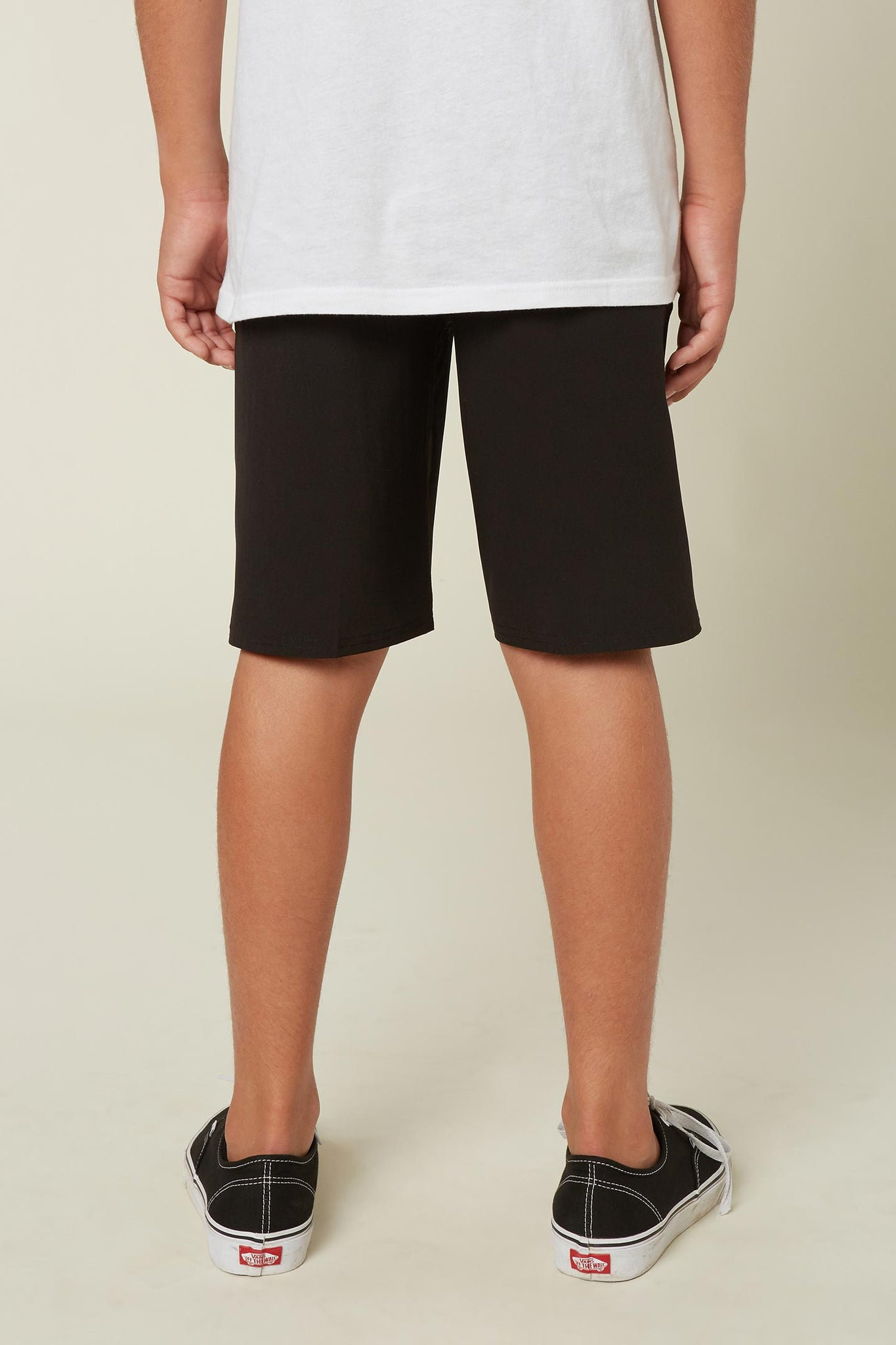 Boys Reserve Solid Hybrid Shorts - Black | O'Neill