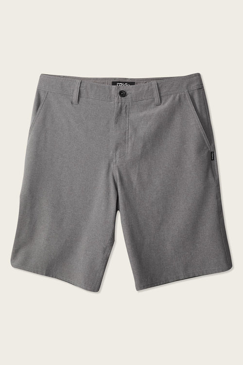 3b3ff6bfa3 image of LOADED RESERVE HEATHER HYBRID SHORTS with sku:SP918A001|HGR2|28 ...