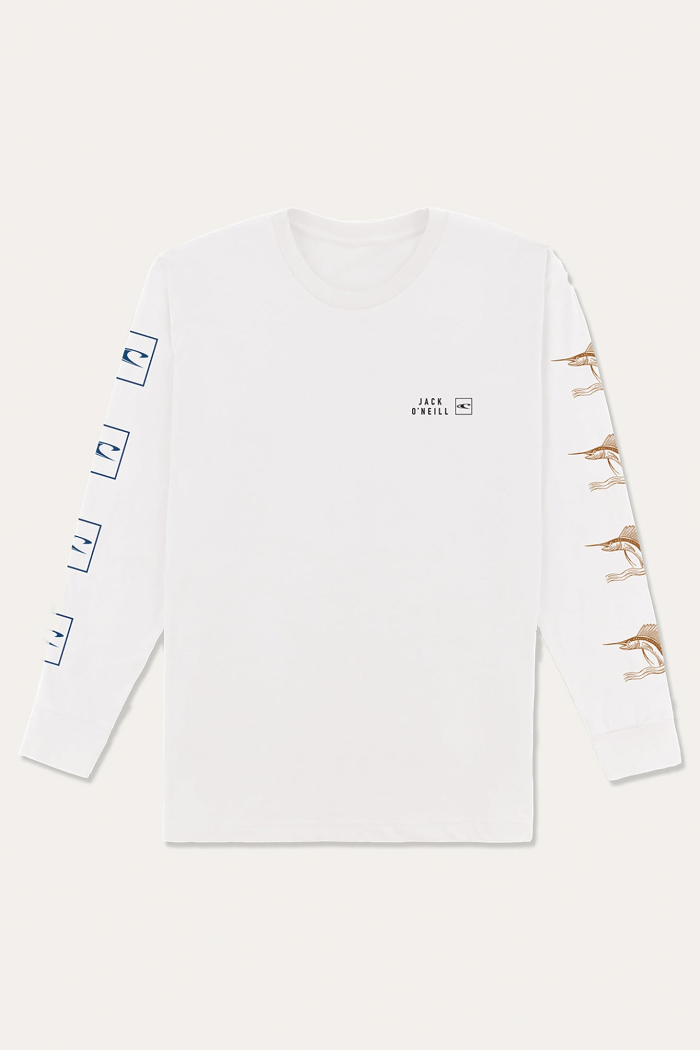 Jack O'Neill Ring Ring Long Sleeve Tee - White | O'Neill