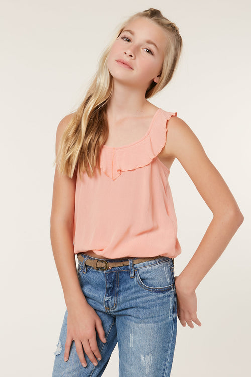 GIRLS RUFFLES TOP