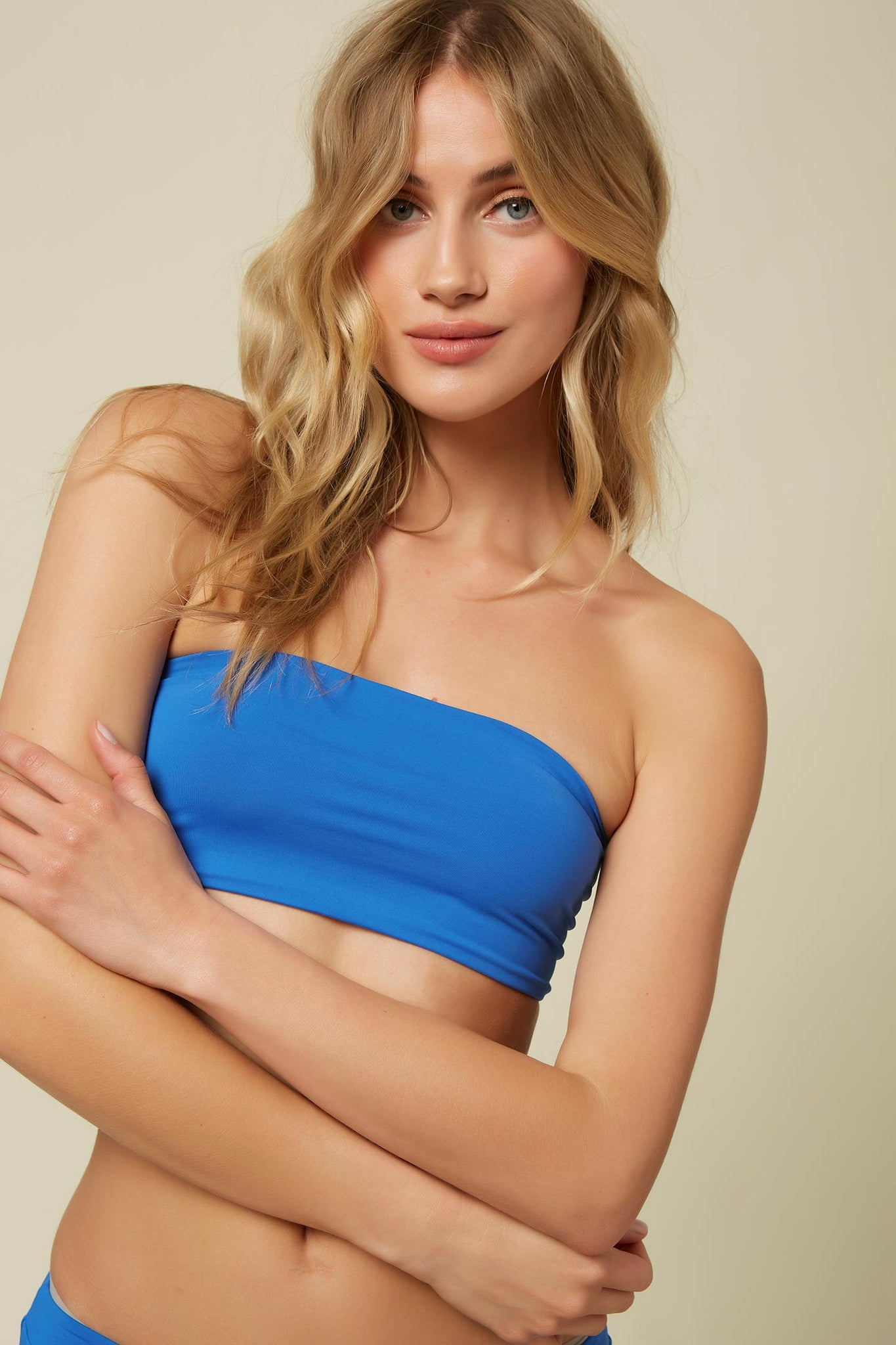 Saltwater Solids Bandeau Top | O'Neill