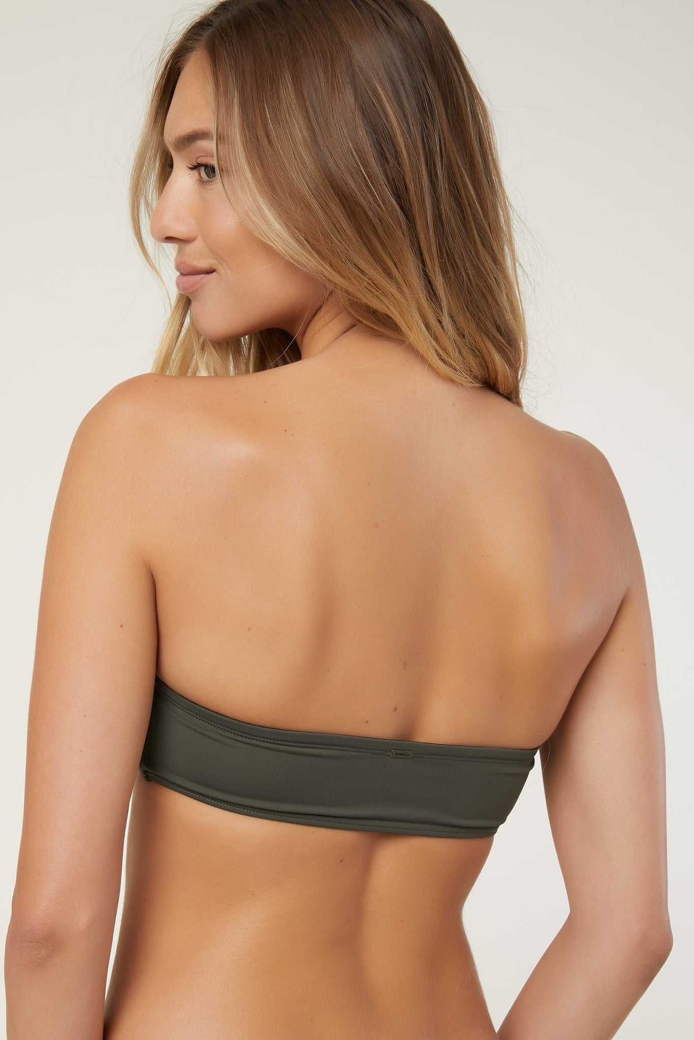 Saltwater Solids Bandeau | O'Neill Clothing USA