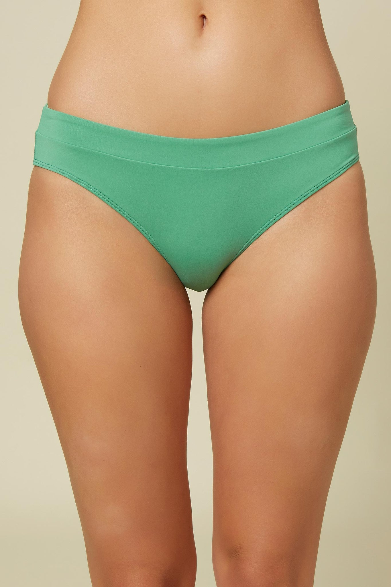 Saltwater Solids Banded Bottoms - Green Spruce | O'Neill