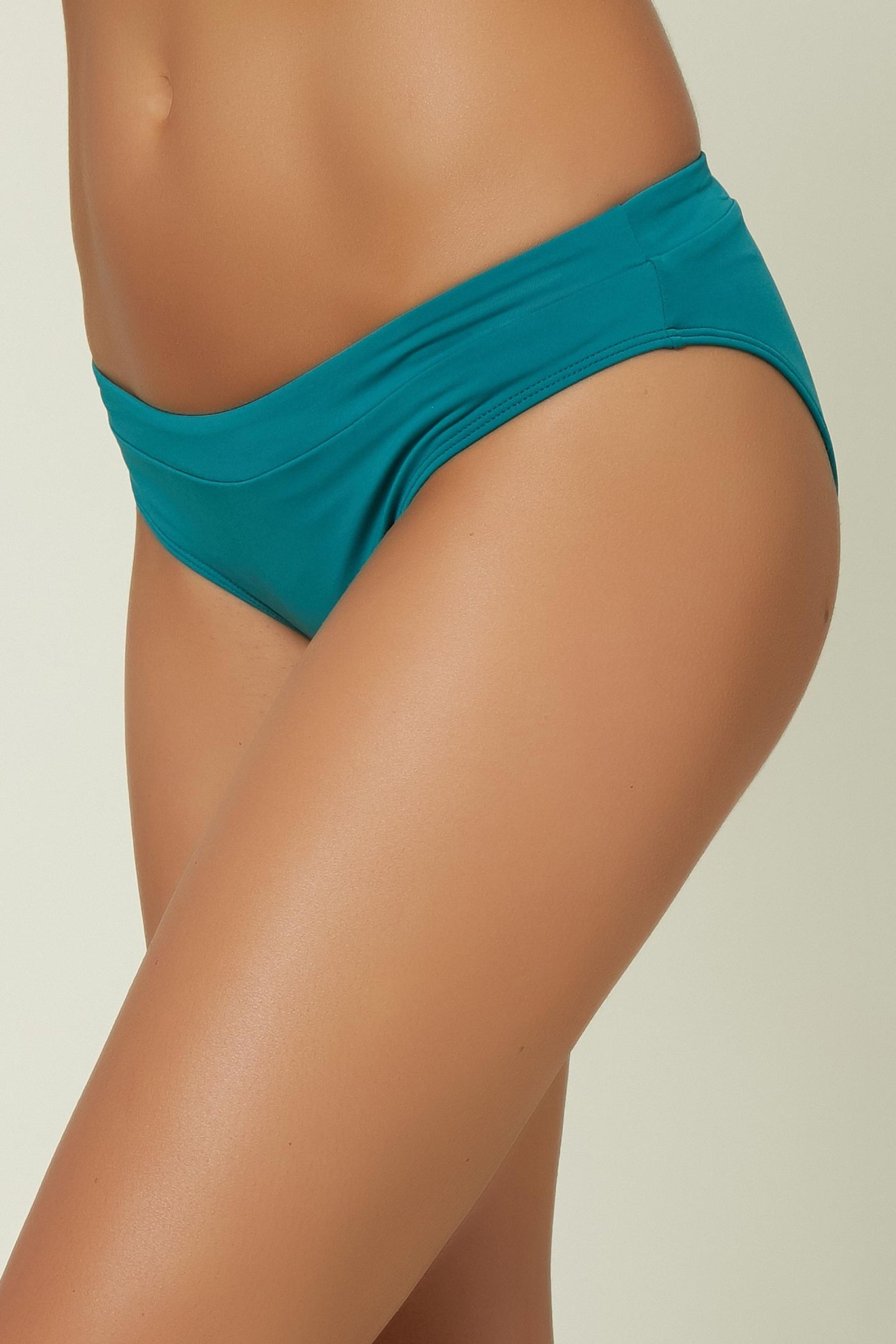 Saltwater Solids Banded Bottom - Teal Green | O'Neill