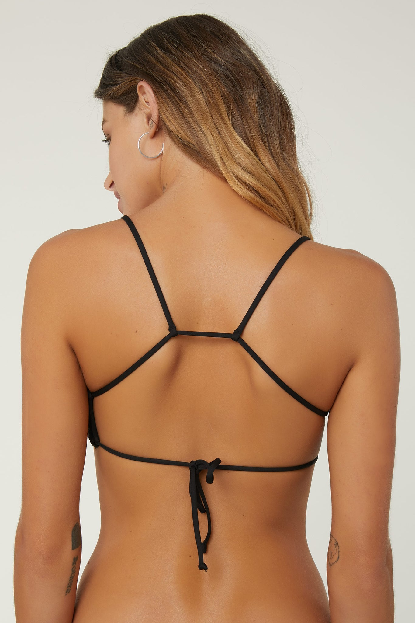 Saltwater Solids Bralette Top - Black | O'Neill