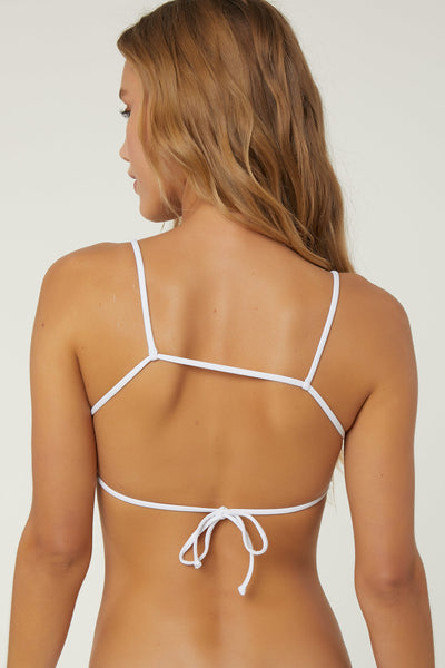 SALT WATER SOLIDS  BRALETTE TOP
