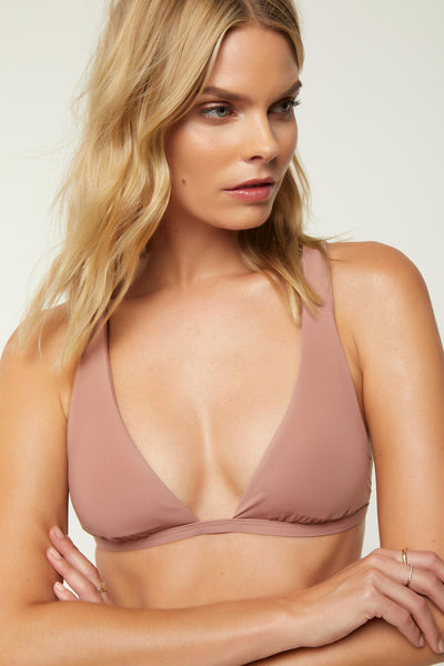 SALT WATER SOLIDS HALTER TOP