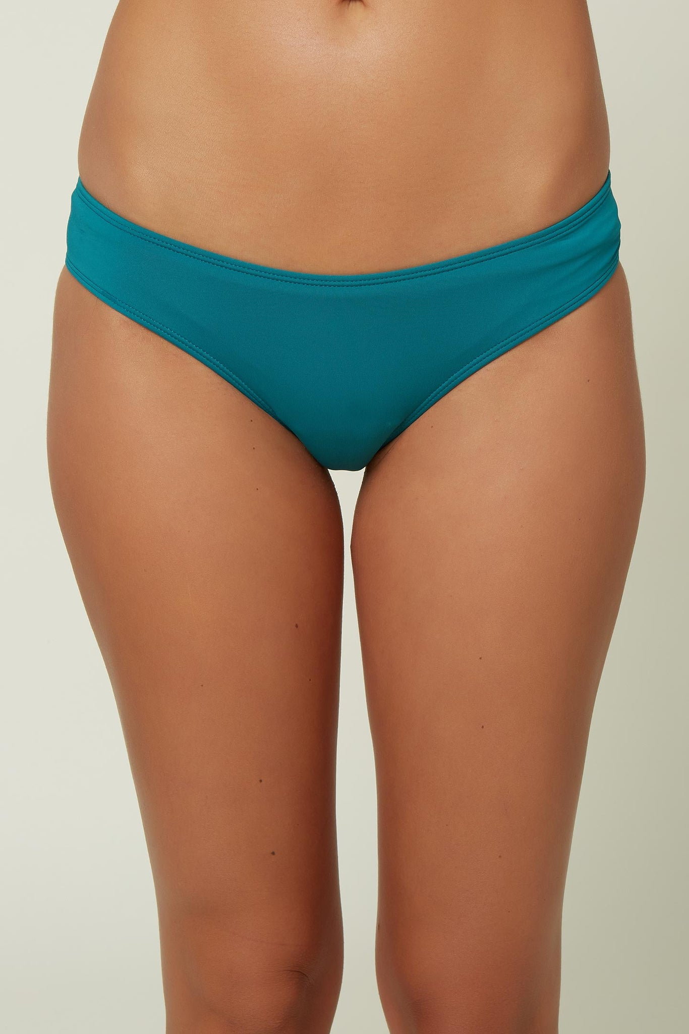 Saltwater Solids Cheeky Hipster Bottom - Teal Green | O'Neill