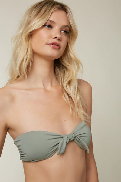 Salt Water Solids Knot Bandeau Top | O'Neill Clothing USA