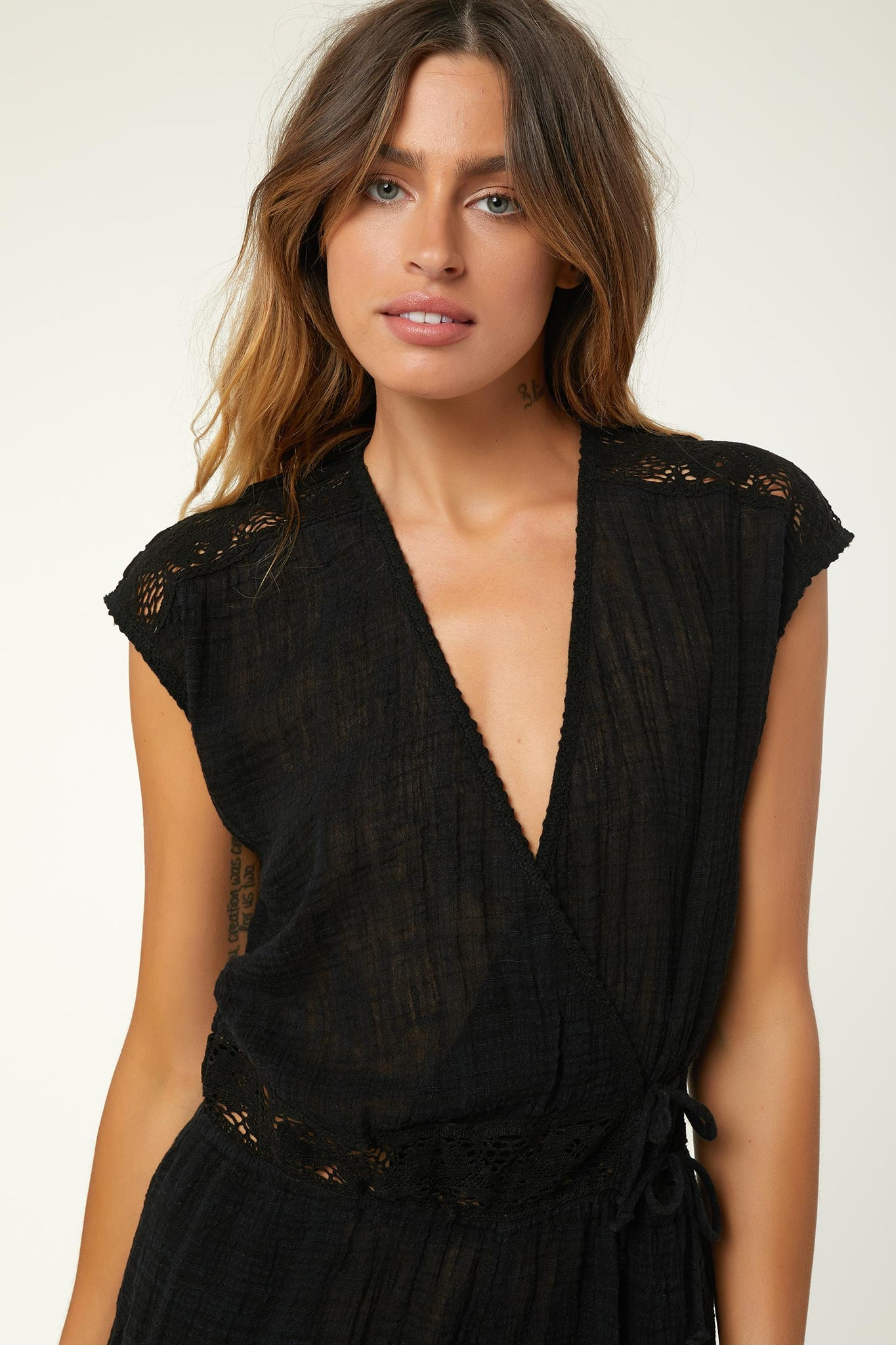 Salt Water Solid Cover-Up Romper | O'Neill Clothing USA