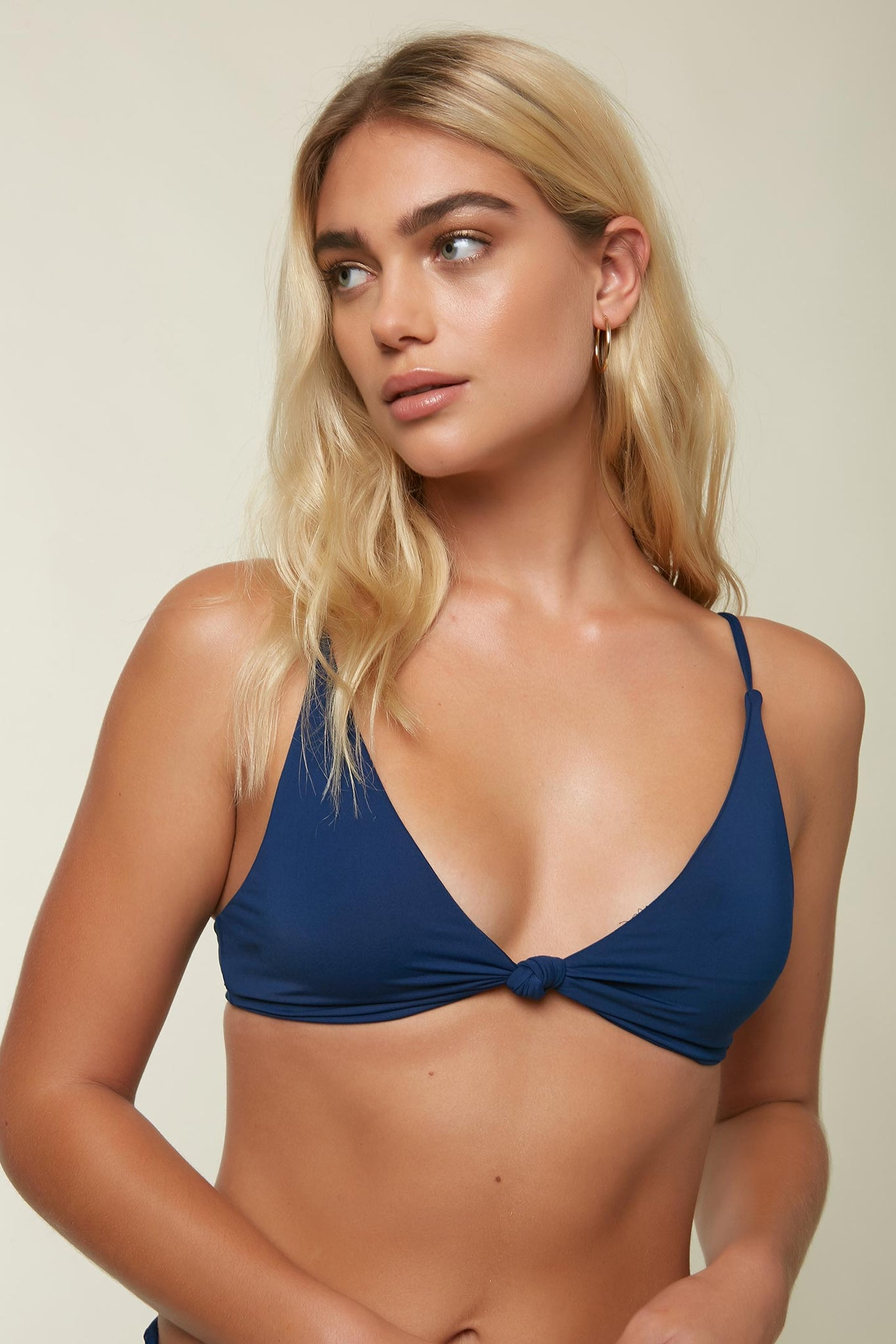 Saltwater Solids Tall Tri Knot Top - Navy | O'Neill