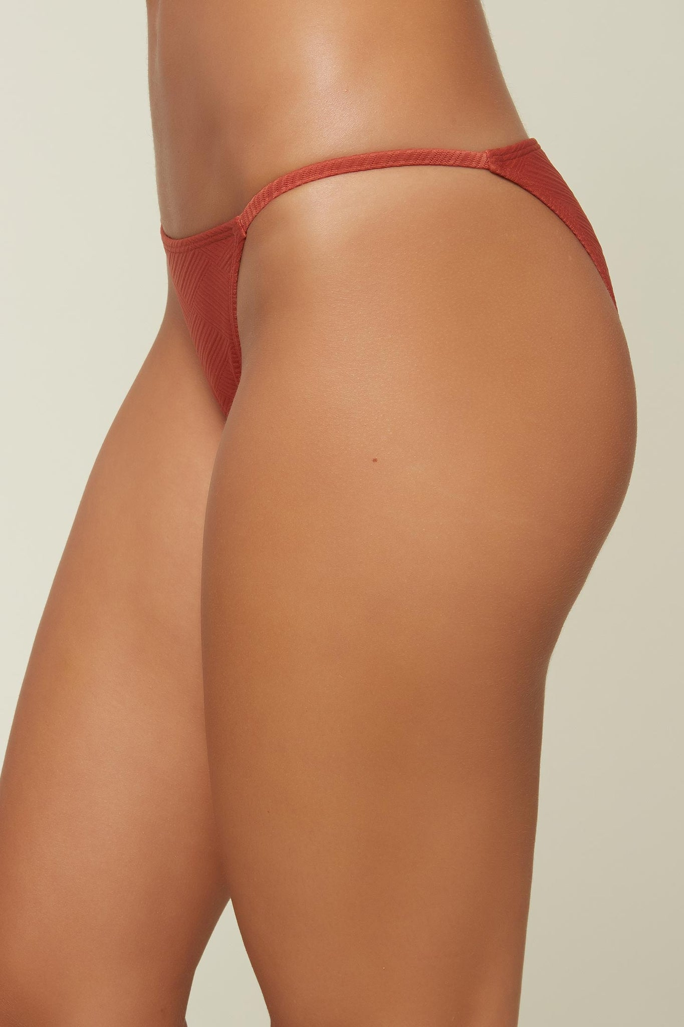 Saltwater Solids Textured Bottoms - Dark Etruscan Red | O'Neill