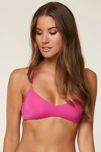 SALT WATER SOLIDS BRALETTE