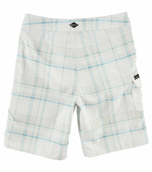 BOYS SANTA CRUZ PLAID BOARDSHORTS