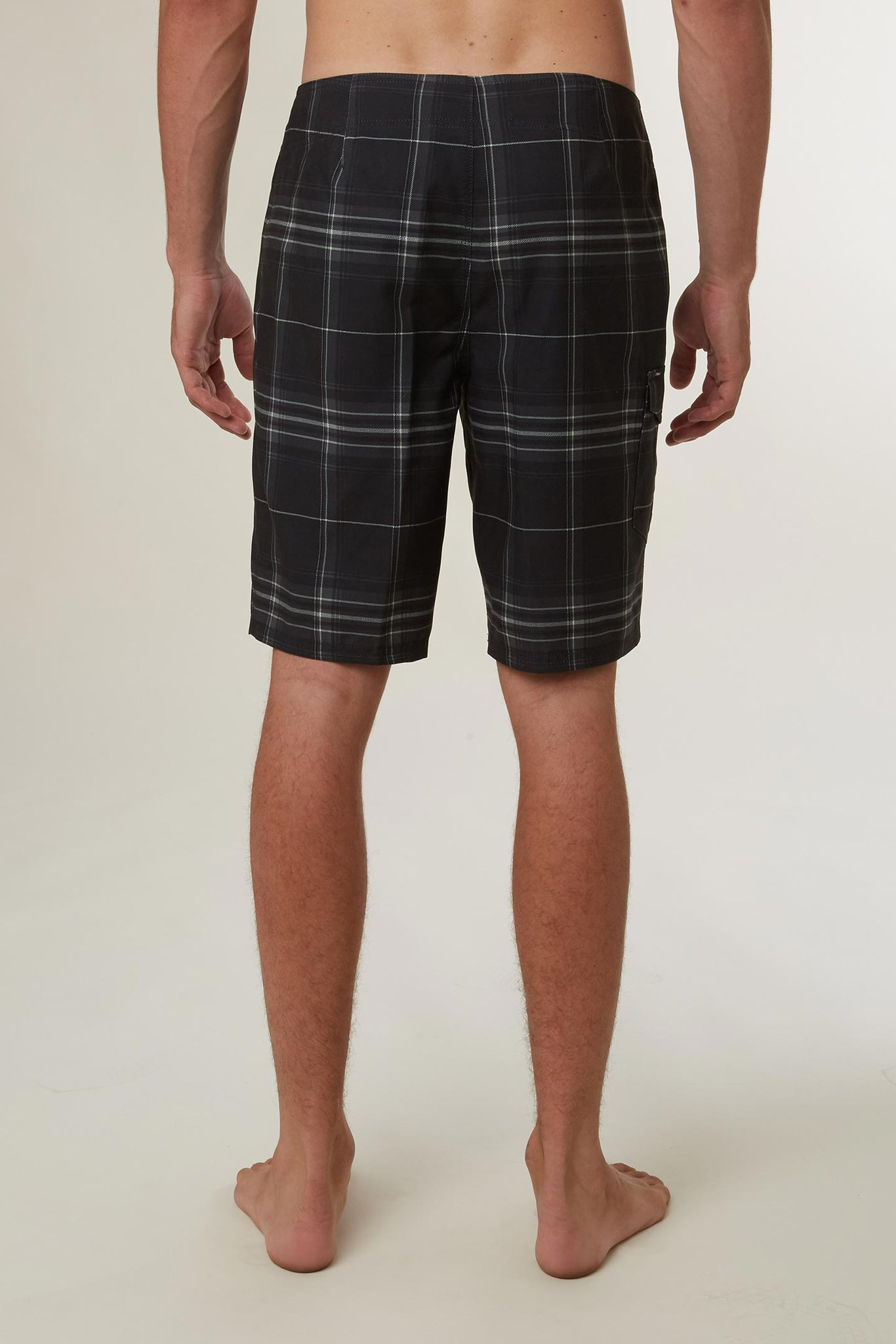 Santa Cruz Plaid Boardshorts - Black | O'Neill