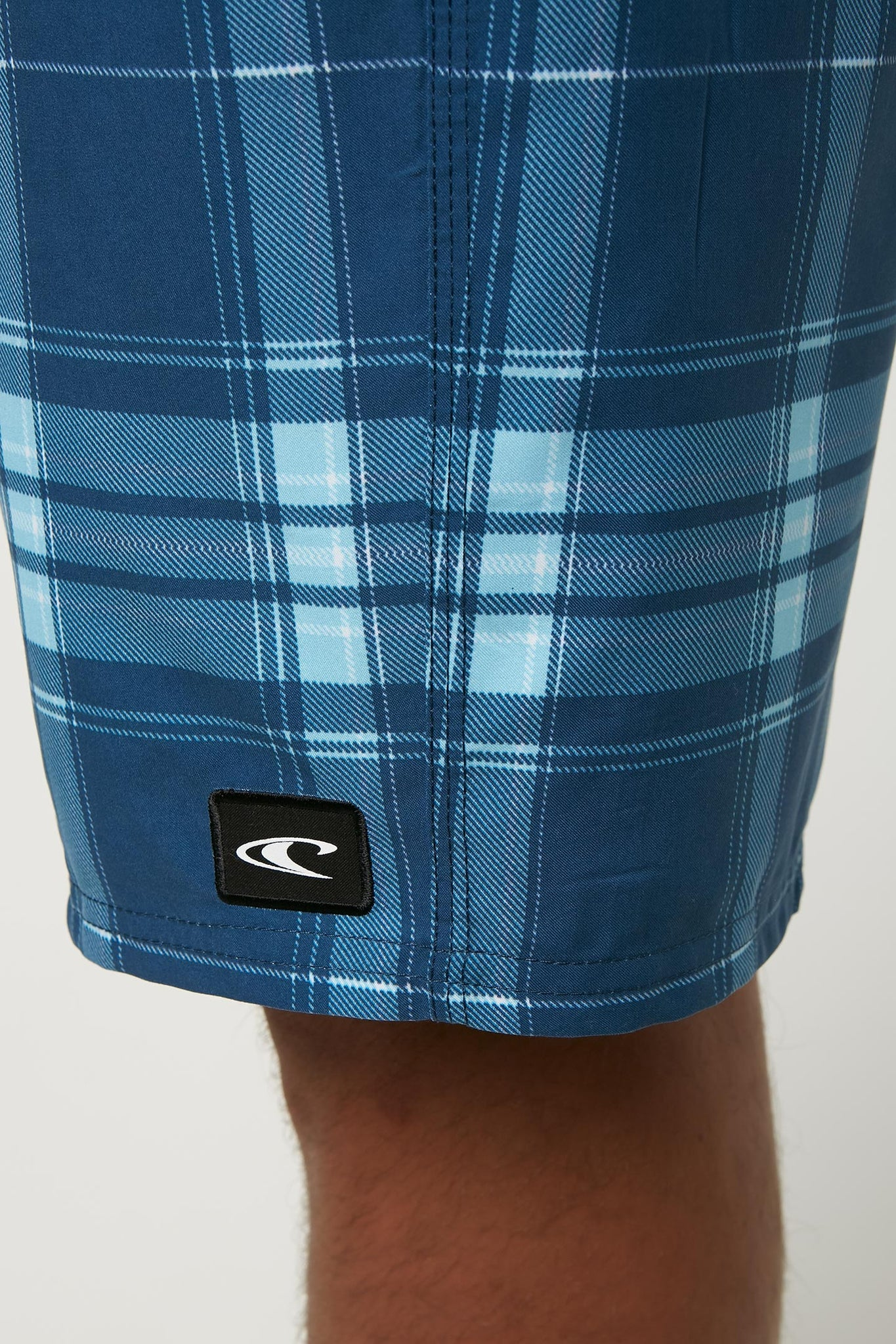 Santa Cruz Plaid Boardshorts - Blue | O'Neill
