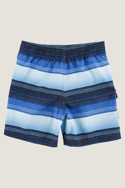 LITTLE BOYS SANTA CRUZ STRIPE BOARDSHORTS