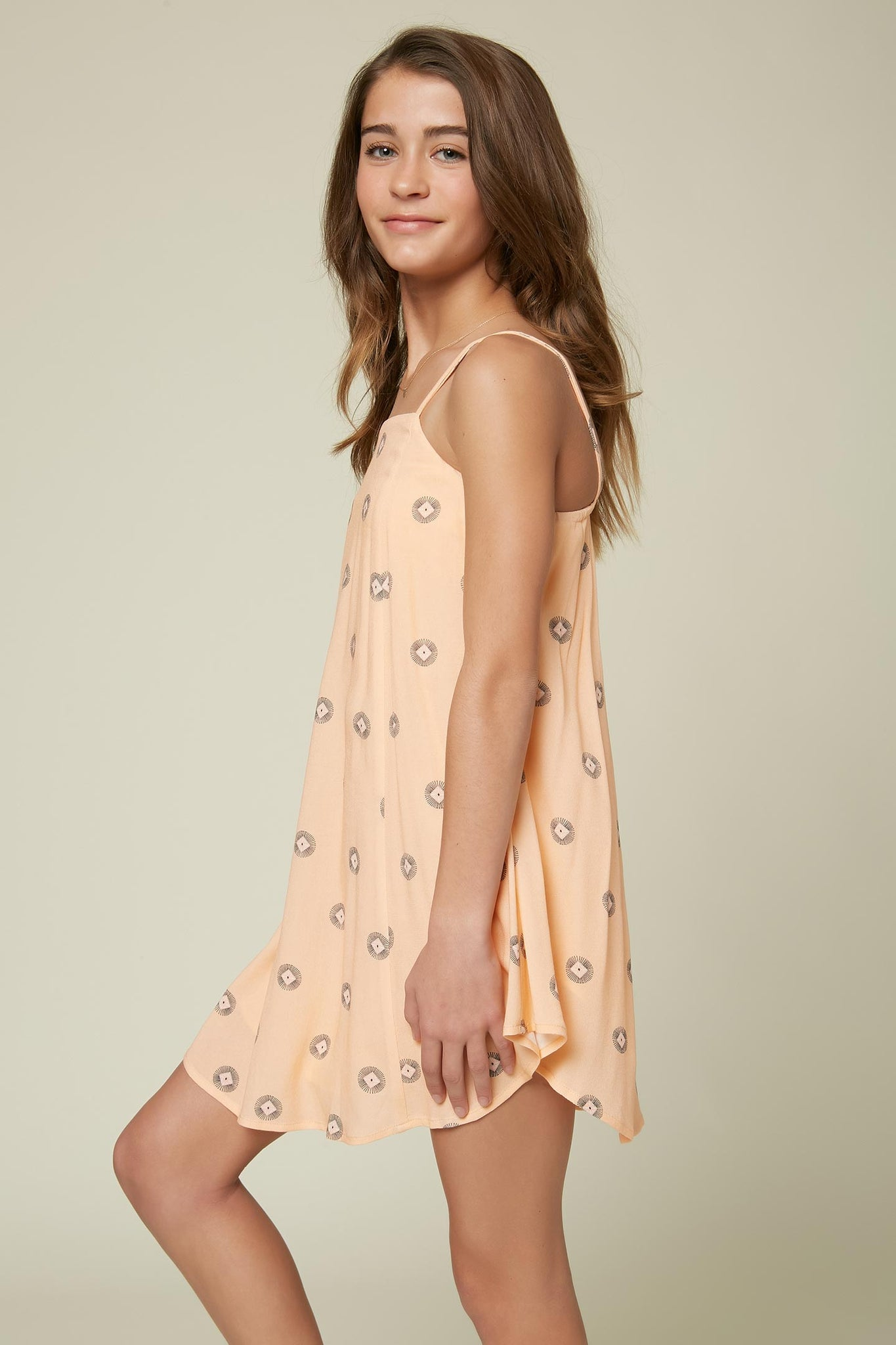 Girls Savina Dress - Peach | O'Neill