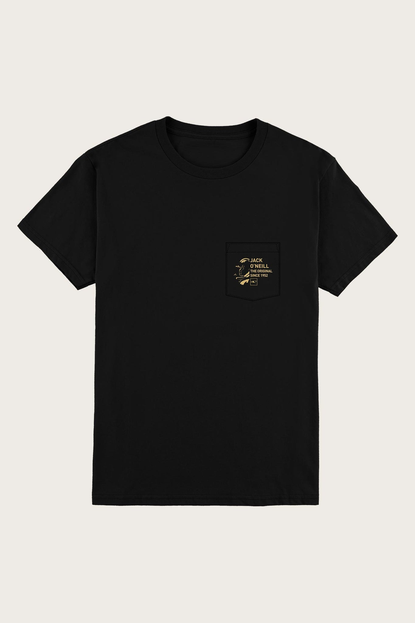 Jack O'Neill Sea Bright Pocket Tee - Black | O'Neill
