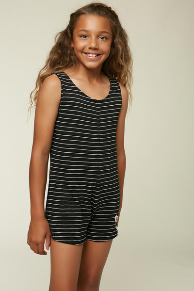 GIRLS SEASHORE ROMPER